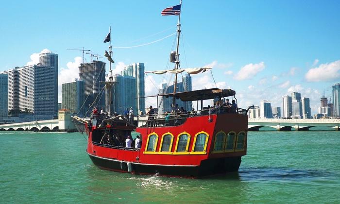 Pirates Adventures Sightseeing Tours Miami Aqua Tours