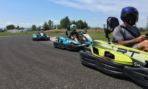 GoKart Challenge: Junior or Adult Racing at GoKart Challenge (Up to 50% Off). Six Options Available.