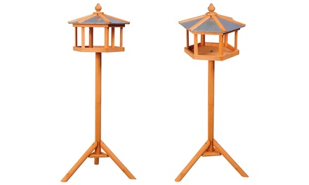 PawHut Bird Stand Feeder