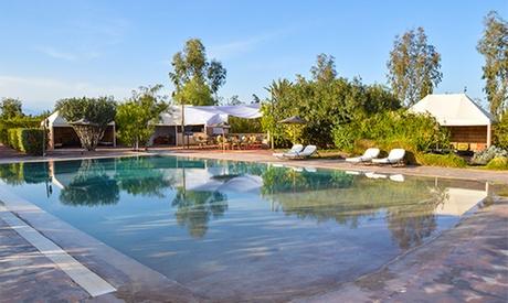 Marrakech: de 1 a 7 noches con desayuno y hammam y opción a transporte y media pensión en Jardins D'Issil
