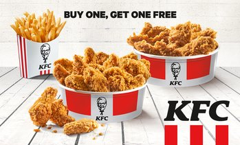 2-for-1 Chick'n'Share bei KFC