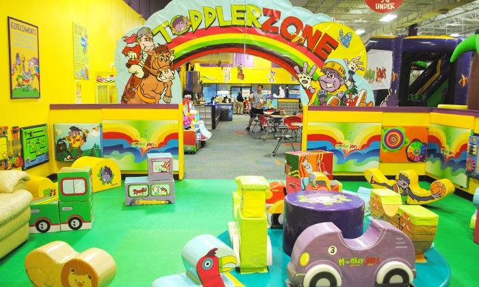Monkey Joe's - Shoppes at Sawgrass: Four Indoor Playground Visits or Weekend or Weekday Party for Up to 24 Kids at Monkey Joe's (Up to 40% Off)