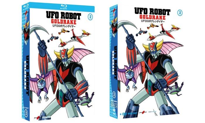 Pre Order Ufo Robot Goldrake