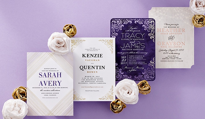 Custom wedding invitations wedding paper divas groupon wedding paper divas custom wedding invitations and other wedding stationery from wedding paper divas junglespirit Choice Image