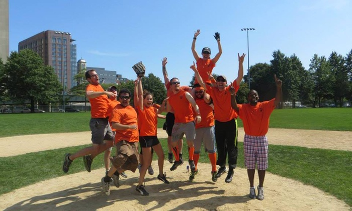 """S3 Simply Social Sports Leagues - Wrightwood Park: Up to 54% Off 16"""" coed softball league  at S3 Simply Social Sports Leagues"""