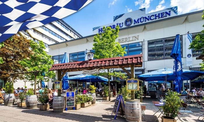 Bayerischer Brunch am Sonntag für 2 oder 4 Personen im Hofbräu in Berlin oder Hamburg (31% sparen)