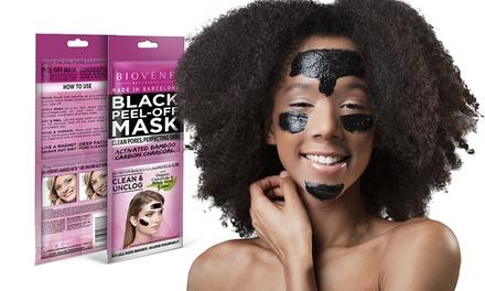2x, 4x oder 8x Biovène Black Peel-Off Maske im praktischen Sachet (2x 10 ml)