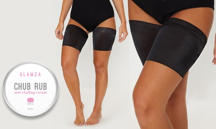 Crema da 50 ml e fascia anti-arrossamento per le gambe disponibile in 3 misure