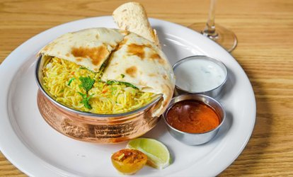 image for <strong>Indian</strong> Food at Urban Turban (Up to 40% Off)