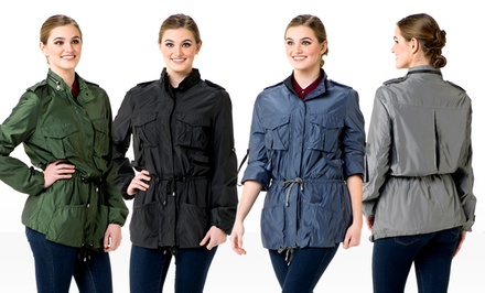 groupon daily deal - G.E.T. Ms. Field Jackets. Multiple Colors Available.