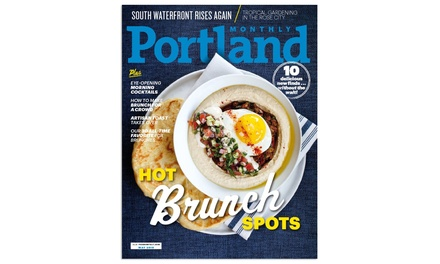Portland Monthly Magazine Subscription for Six Months or One Year (Up to 49% Off)