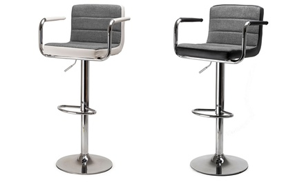 Set 2 of 4 Tendo bar stoelen met armsteunen