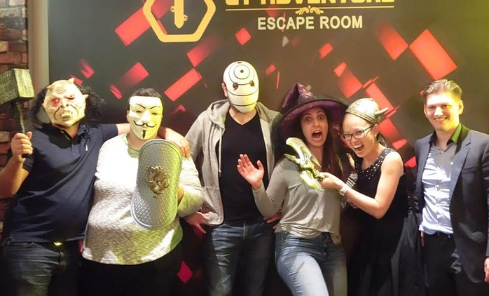 Escape Game for 2 ($45), 4 ($89), 6 ($129) or 8 People ($169) at CT Adventure Escape Room (Up to $320 Value)