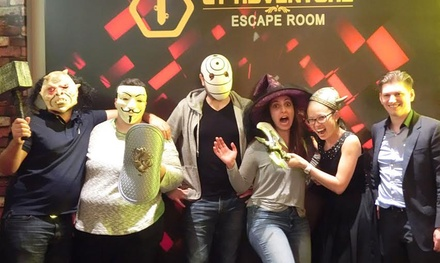 Escape Game $45, 4 $89, 6 $129 or 8 People $169 at CT Adventure Escape Room Up to $320 Value