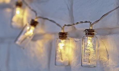 1 o 2 sets de luces navideñas en tarro Globrite Oferta en Groupon