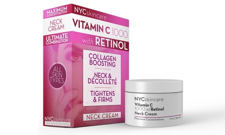 NYCskincare Vitamin C 1,000 with Retinol Neck Cream (1 Oz.)