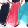 Women's Pleated Chiffon Skirt