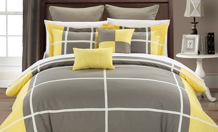 7-Piece Regency Comforter Set. Multiple Options Available from $69.99–$79.99.