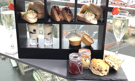 Afternoon Tea for Up to Four with Optional Prosecco from The Sky Lounge DoubleTree by Hilton Leeds