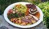 Zazi Mediterranean Grill - Stratfield Village: Mediterranean Food at Zazi Mediterranean Grill (40% Off). Two Options Available.
