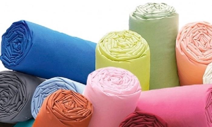 Drap housse ou taie doreiller en percale de coton plusieurs coloris au choix dès 1298 € (jusquà 46% de rduction)