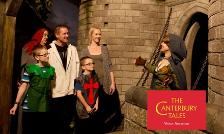 Canterbury Tales Entry: Child £4.75, Adult £5.75