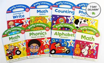 Early Learners Educational 8-Book Bundle