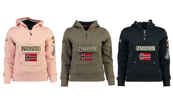 Felpa da donna GYMCLASS Geographical Norway