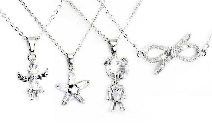 Groupon Goods Global GmbH: Fino a 4 collane con pendente disponibili in 4 modelli