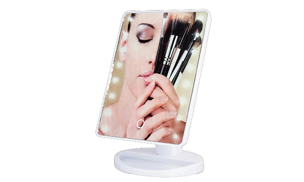 $24.95 for a Paris Glam 16 LED Touchscreen Cosmetic Mirror