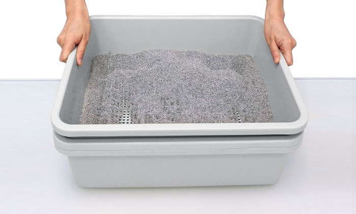 Up To 68 Off On Simply Sift Litter Box System Groupon Goods