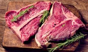 Oh la Vache: Menu van 1 kg vlees van de dag en voor- of nagerecht naar keuze voor 2 of 4 personen vanaf € 59,99 bij Oh La Vache