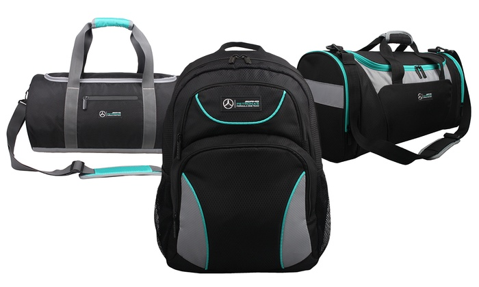 Mercedes AMG Gym Bags, Backpacks, and Messenger Bags