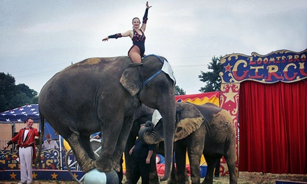 Loomis Bros. Circus at Southeastern Livestock Pavilion  on September 2 or 3 (Up to 49% Off)
