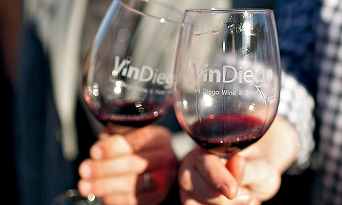 VinDiego Wine and Food Festival - Liberty Station: Admission for One to VinDiego Wine and Food Festival on Saturday, April 2 ($105 Value)