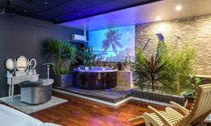 Paradis Nature Spa: Seul ou en duo Jacuzzi aux pétales de rose, modelage et soin 100% naturel à Nice dès 39.90 € avec Paradis Nature Spa