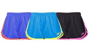 Soffe Junior Women's Retro Mesh Shorts