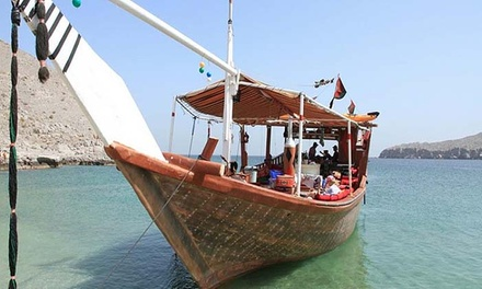 Khasab: Half-Day or Full-Day Dhow Cruise with Dolphin Watching and Option for Overnight Beach Stay