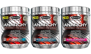 MuscleTech Anarchy Pre-Workout (60 Servings) at MuscleTech Anarchy Pre-Workout (60 Servings), plus 6.0% Cash Back from Ebates.