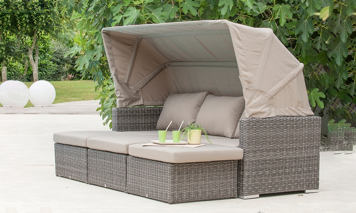 Salon jardin bas modulable | Groupon