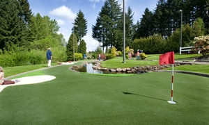 Tualatin Island Greens: Mini Golf for Four, or a Punch Card for 10 Rounds of Mini Golf at Tualatin Island Greens (40% Off)