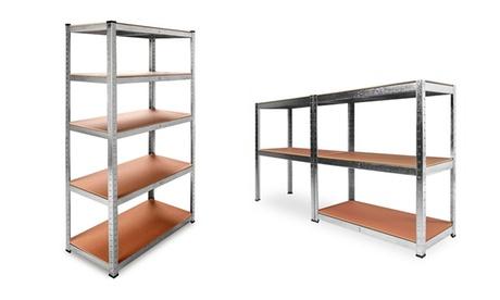 1, 2 o 3 estanterías metálicas de hasta 585 kg de capacidad