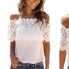 Women's Crochet Lace Top