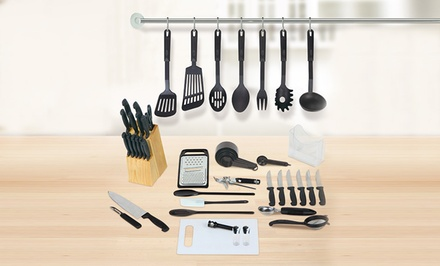 51-Piece Kitchen Essentials Set
