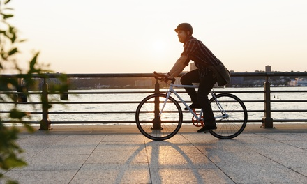 Two or Four-Hour Bike Rental for One or Two from Hudson River Sightseeing (Up to 58% Off)