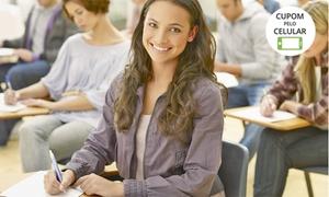 Qualify English School: Qualify English School – Centro: 4 semanas de imersão em inglês (opção com técnica de apresentações e entrevista)