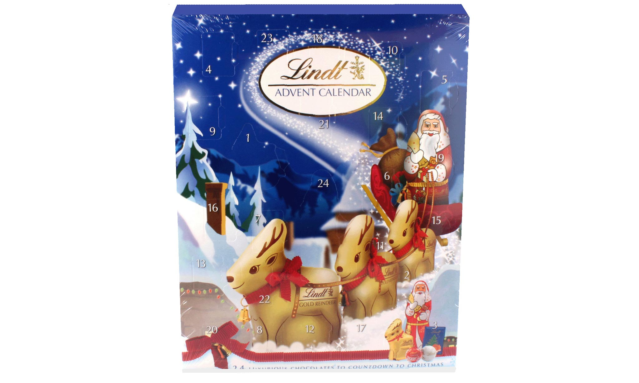 One or Two Lindt Advent Calendars From £13