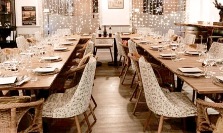 Menú para 2 o 4 personas con entrante, principal, postre y bebida en Dodo Wear & Lounge (hasta 57% de descuento)