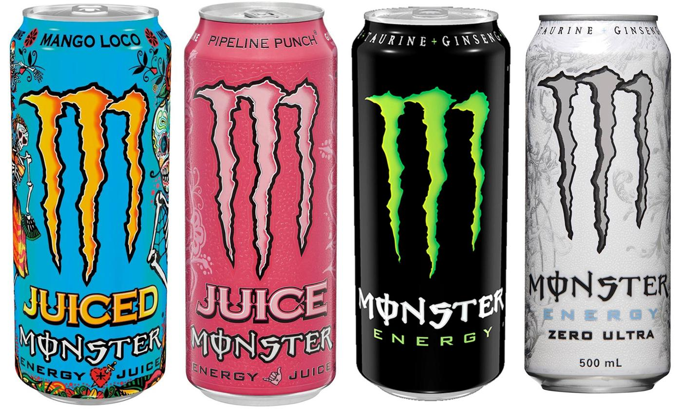 12-Pack of Monster Energy Drink 500ml