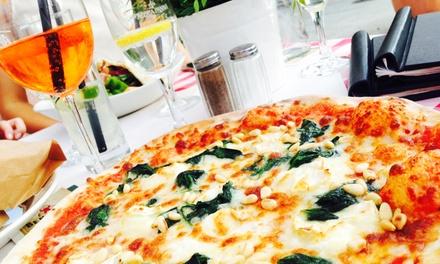 Je 1 Pizza nach Wahl für 2 oder 4 Personen im Allegretto a Tavola in Mitte (bis zu 60% sparen*)